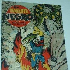 Tebeos: EL TENIENTE NEGRO Nº 13 -- ORIGINAL BRUGUERA 1962. Lote 45904202
