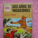 Tebeos: HISTORIAS SELECCION 10 EDITORIAL BRUGUERA 1975 DOS AÑOS DE VACACIONES SERIE JULIO VERNE. Lote 45927352
