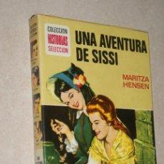 Tebeos: UNA AVENTURA DE SISSI - COLECCION HISTORIAS SELECCION - BRUGUERA - ZPW - 6ª EDICION 1976. Lote 45982308