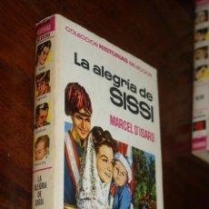 Tebeos: LA ALEGRÍA DE SISSI - MARCEL D'ISARD - BRUGUERA - COLECCION HISTORIAS SELECCION - ZPW - 1ª ED - 1967. Lote 45986484