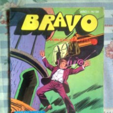 BDs: BRAVO- Nº 38 -INSPECTOR DAN - Nº 19 -1976-´¡PELIGRO DE MUERTE!`- GRAN CLÁSICO DEL TEBEO ESPAÑOL-2693. Lote 45996876
