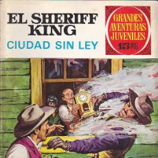 Tebeos: COMIC COLECCION SHERIFF KING Nº 18. Lote 219297031