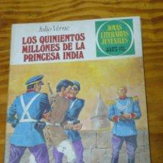 Tebeos: TEBEOS-COMICS GOYO - JOYAS LITERARIAS - VERDE - 3ª COLECCION - 35 PTS - Nº 211 - 1ª ED.*AA99. Lote 46065040