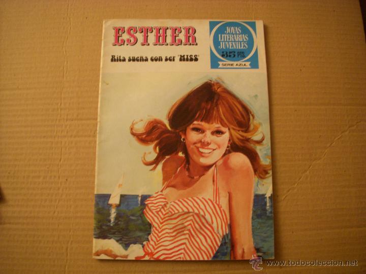 ESTHER Nº 37, JOYAS LITERARIAS SERIE AZUL, EDITORIAL BRUGUERA (Tebeos y Comics - Bruguera - Esther)