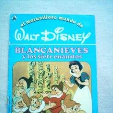 Tebeos: MARAVILLOSO MUNDO DE DISNEY Nº 11 BLANCANIEVES / BRUGUERA 1986. Lote 46121471