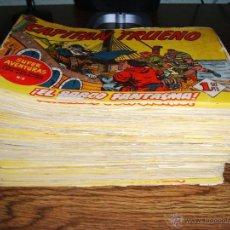 Tebeos: LOTE 186 TEBEOS EL CAPITÁN TRUENO (EDITORIAL BRUGUERA) 1957. Lote 46198504