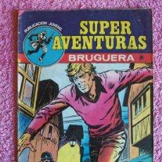Tebeos: SUPER AVENTURAS 6 1978 BRUGUERA SAFARI HACIA LA MUERTE. Lote 46203963