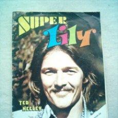 Tebeos: SUPER LILY Nº 9 BRUGUERA 1976 POSTER BOB NIKO. Lote 46218200