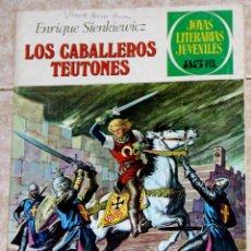 Tebeos: LOS CABALLEROS TEUTONES JOYAS LITERARIAS BRUGUERA NUMERO 63. Lote 46303323