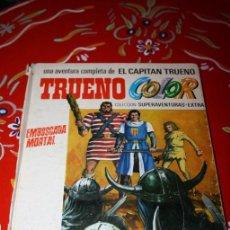 Tebeos: COMIC TRUENO COLOR- EMBOSCADA MORTAL,- BRUGUERA 1969 TAPAS DURAS . Lote 46312283