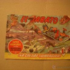 Tebeos: EL JABATO Nº 65, EDITORIAL BRUGUERA. Lote 46318721