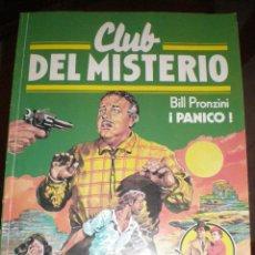Tebeos: CLUB DEL MISTERIO. Nº 115. ¡PÁNICO! - BILL PRONZINI 1º EDICIÓN 1983. Lote 46410183