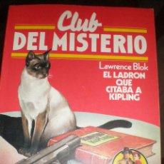 Tebeos: CLUB DEL MISTERIO, EL LADRÓN QUE CITABA A KLIPING, BRUGUERA, Nº 131. Lote 46410286