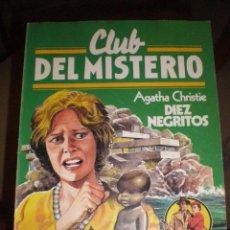 Tebeos: CLUB DEL MISTERIO - Nº 60 - DIEZ NEGRITOS - AGATHA CHRISTIE. Lote 46411332