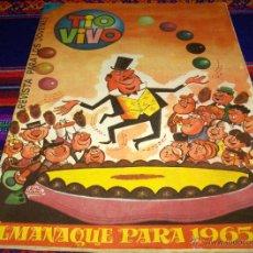 Tebeos: TIO VIVO ALMANAQUE 1965. BRUGUERA 10 PTS. MUY BUEN ESTADO Y RARO.. Lote 46445442