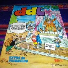 Tebeos: DDT EXTRA PRIMAVERA 1977. BRUGUERA 50 PTS. MUY DIFÍCIL!!!!!. Lote 46446117