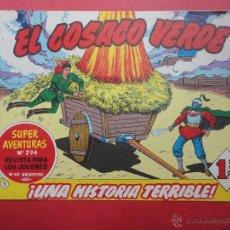 Tebeos: EL COSACO VERDE Nº 294. Lote 46481013