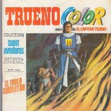 Tebeos: CAPITAN TRUENO COLOR 51 EL IDOLO SINIESTRO. SUPER AVENTURAS 1225 BRUGUERA. Lote 46491663