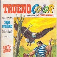 Tebeos: CAPITAN TRUENO COLOR 144 CAPTURADOS. SUPER AVENTURAS 1411 BRUGUERA. Lote 46491667