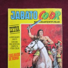 Livros de Banda Desenhada: JABATO COLOR EXTRA. TERCERA ÉPOCA Nº 1. ¡ESCLAVOS DE ROMA! BRUGUERA 1978 MBE TEBENI. Lote 46541011