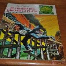 Tebeos: C62 JOYAS LITERARIAS JUVENILES 2ª EDICION Nº 55 EL TESORO DEL LAGO DE LA PLATA KARL MAY. Lote 46541798