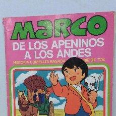 Tebeos: TEBEO- MARCO, DE LOS APENINOS A LOS ANDES. EDITORIAL BRUGUERA N. 7. Lote 46561337