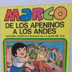 Tebeos: TEBEO - MARCO, DE LOS APENINOS A LOS ANDES. EDITORIAL BRUGUERA N. 2. Lote 46561377