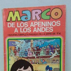 Tebeos: TEBEO- CÓMIC - MARCO, DE LOS APENINOS A LOS ANDES. EDITORIAL BRUGUERA N. 1. Lote 46561466