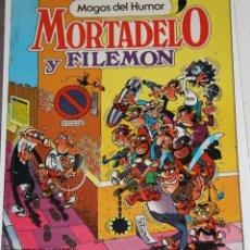 Tebeos: MORTADELO Y FILEMON MAGOS DEL HUMOR. Lote 46608083