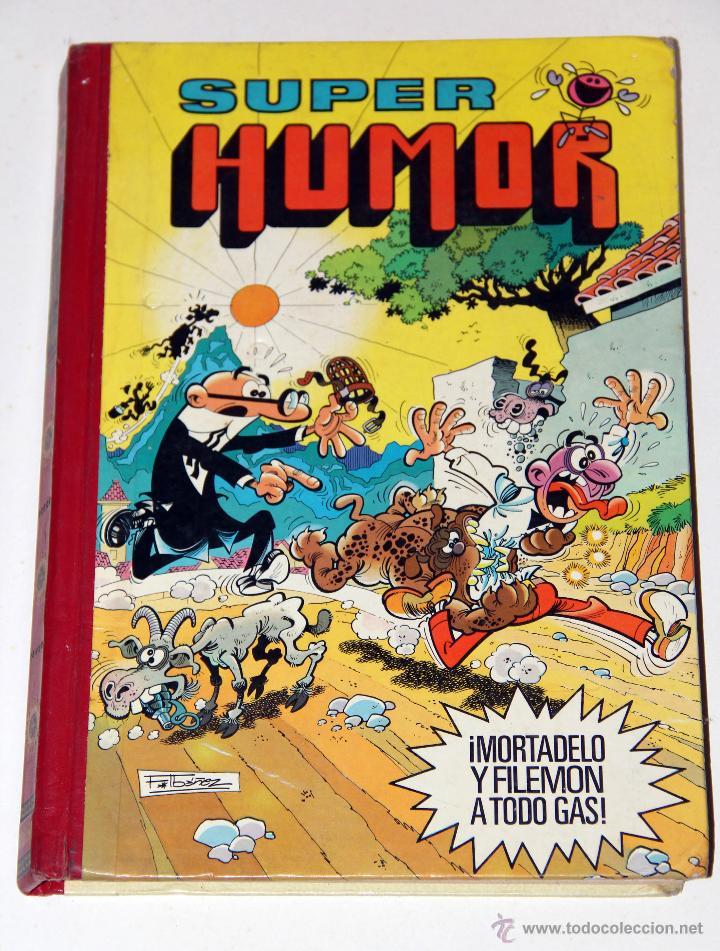 SUPER HUMOR MORTADELO Y FILEMON TOMO (Tebeos y Comics - Bruguera - Super Humor)