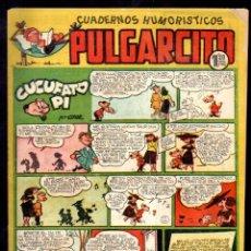 Tebeos: PULGARCITO,CUADERNOS HUMORÍSTICOS,NÚMERO 183,MARCA 1,20 PESETAS,BRUGUERA,ES EL DE LA FOTO,ORIGINAL. Lote 46620064