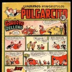 Tebeos: PULGARCITO,CUADERNOS HUMORÍSTICOS,NÚMERO 198,MARCA 1,20 PESETAS,BRUGUERA,ES EL DE LA FOTO,ORIGINAL. Lote 46620432