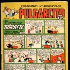 Tebeos: PULGARCITO,CUADERNOS HUMORÍSTICOS,NÚMERO 186,MARCA 1,20 PESETAS,BRUGUERA,ES EL DE LA FOTO,ORIGINAL. Lote 46620485