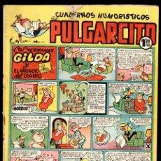 Tebeos: PULGARCITO,CUADERNOS HUMORÍSTICOS,NÚMERO 132,MARCA 1,20 PESETAS,BRUGUERA,ES EL DE LA FOTO,ORIGINAL. Lote 46620624