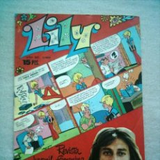 Tebeos: LILY Nº 809 BRUGUERA 1977 POSTER PABLO ABRAIRA. Lote 46622770