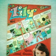 Tebeos: LILY Nº 813 BRUGUERA 1977 POSTER MIGUEL BOSE. Lote 46622826