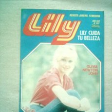 Tebeos: LILY Nº 987 BRUGUERA 1980 POSTER BJORN BORG. Lote 46623061