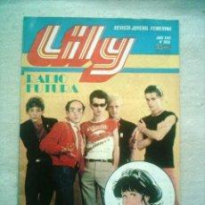 Tebeos: LILY Nº 988 BRUGUERA 1980 POSTER ELVIS PRESLEY Y MARLON BRANDO. Lote 46623074