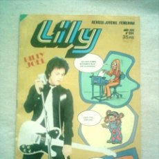 Tebeos: LILY Nº 994 BRUGUERA 1980 POSTER JULIAN. Lote 46623084