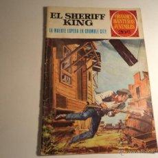Tebeos: EL SHERIFF KING. Nº 16. GRANDES AVENTURAS JUVENILES. BRUGUERA. (A-24). Lote 46673498