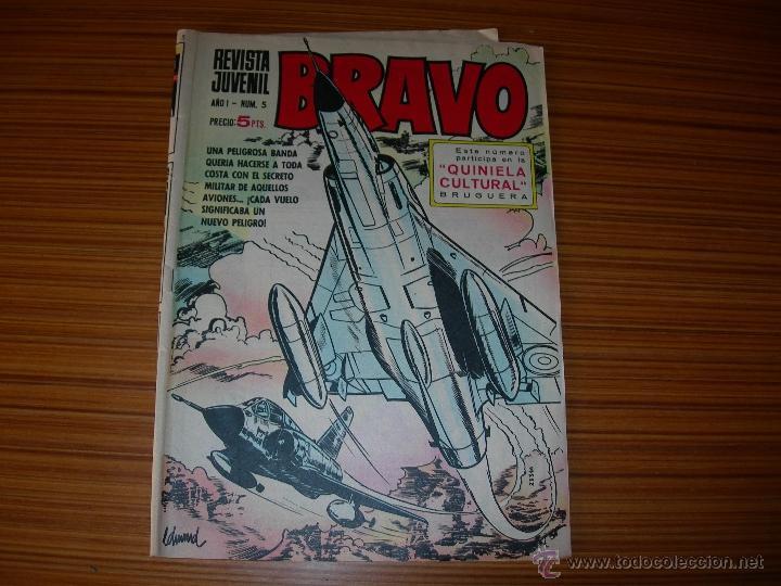 BRAVO Nº 5 DE BRUGUERA (Tebeos y Comics - Bruguera - Bravo)