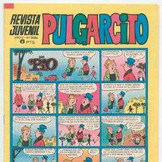 Tebeos: PULGARCITO - Nº 2086 - ED. BRUGUERA - 1971 (CON EL SHERIFF KING). Lote 46713507