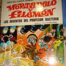 Tebeos: MORTADELO Y FILEMON LOS INVENTOS DEL PROFESOR BACTERIO. Lote 46761958