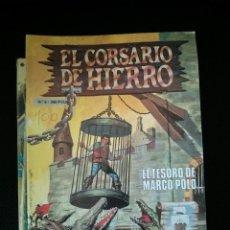 Tebeos: EL CORSARIO DE HIERRO, EL TESORO DE MARCO POLO, Nº 6, EDICIÓN HISTÓRICA, EDICIONES B. Lote 46769131