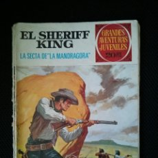 Tebeos: EL SHERIFF KING Nº 30 LA SECTA DE LA MANDRAGORA, GRANDES AVENTURAS JUVENILES. BRUGUERA.. Lote 46769475