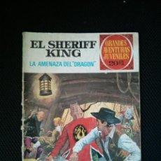 Tebeos: EL SHERIFF KING Nº 4 LA AMENAZA DEL DRAGON, GRANDES AVENTURAS JUVENILES. BRUGUERA.. Lote 46769504