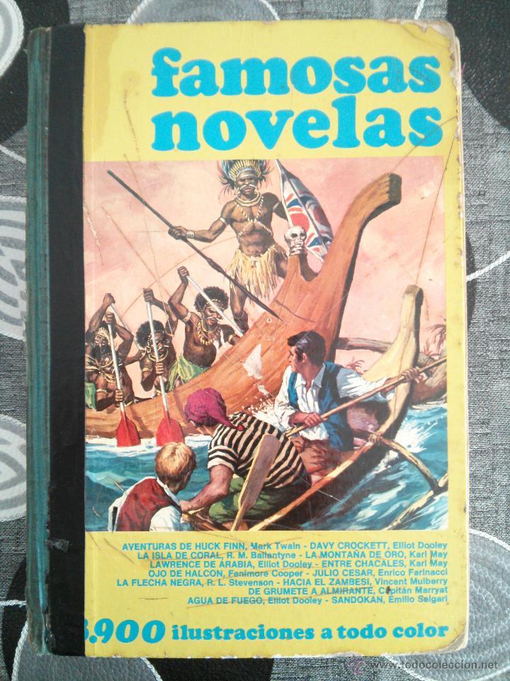 967876a36 FAMOSAS NOVELAS BRUGUERA VOLUMEN IV (TAPA DURA)