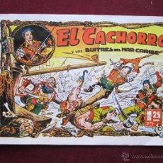 Tebeos: EL CACHORRO Y LOS BUITRES DEL MAR CARIBE. CUADERNO 1. BRUGUERA. FACSIMIL VER DESRIPCION. Lote 154772565