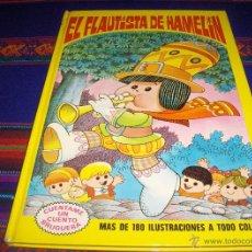 Tebeos: CUÉNTAME UN CUENTO Nº 1 EL FLAUTISTA DE HAMELÍN BRUGUERA 1974 JAN SUPER LOPEZ SUPERLOPEZ RARO MBE!!!. Lote 46796394