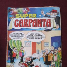 Tebeos: SUPER CARPANTA Nº 9. BRUGUERA, 1978. FACUNDO, SIR TIM O´THEO, ETC. . Lote 46822934